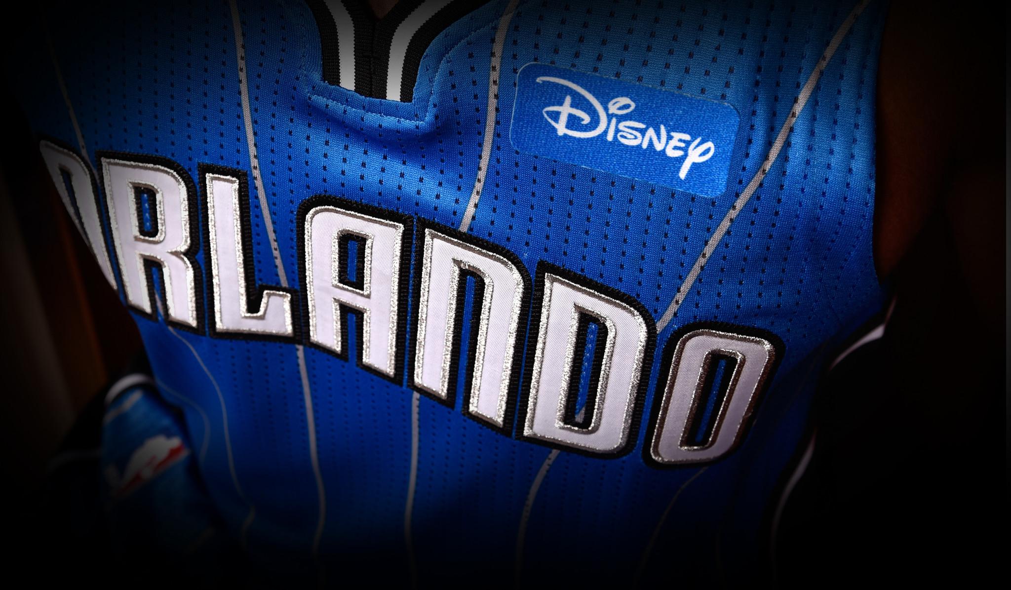9735b931abf ... Disney becomes Magic jersey sponsor - Orlando Sentinel ...