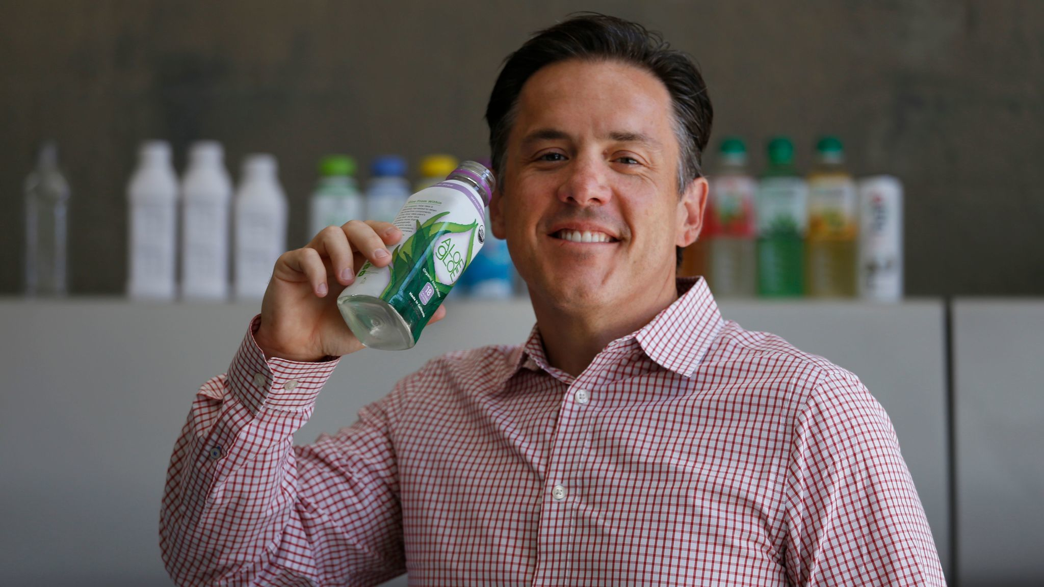 Dino Sarti's own journey to health inspired the creation of Aloe Gloe.