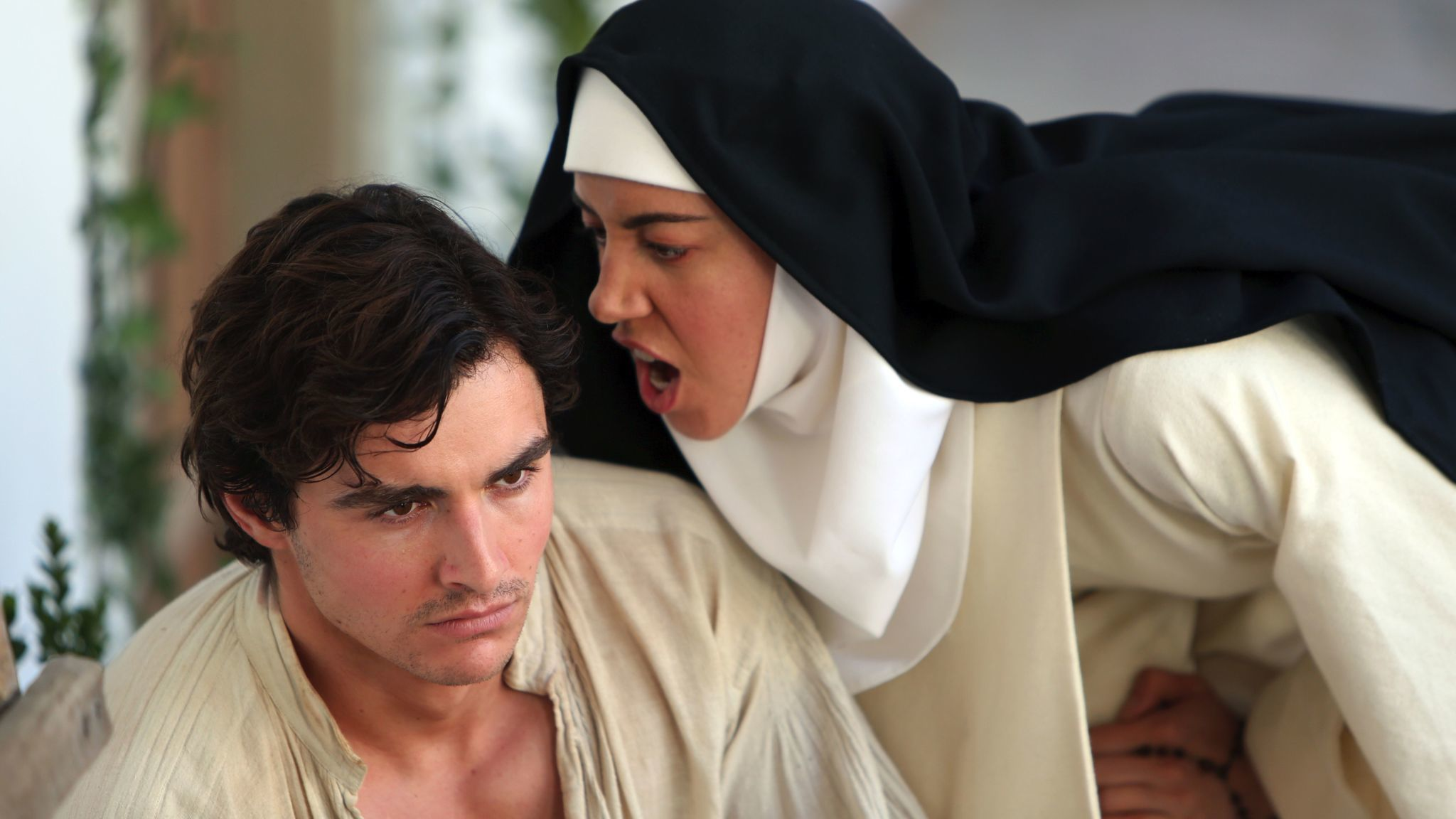 """Dave Franco and Aubrey Plaza in """"The Little Hours."""""""
