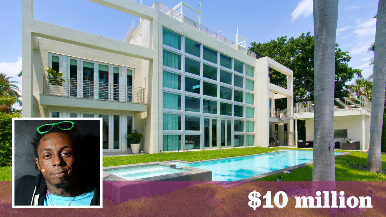 Lil Wayne Gets 10 Million For Miami Beach Home With Skate