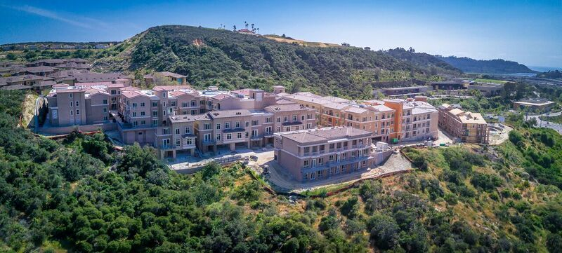 Altura is nestled into the hillside in Carmel Valley.