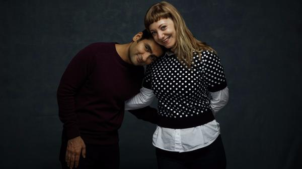 """Kumail Nanjiani and Emily V. Gordon, who co-wrote """"The Big Sick"""" based on their own romance, premiered the film at Sundance."""