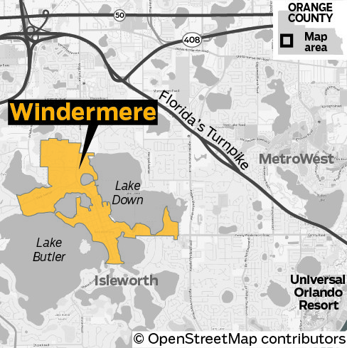 Windermere Known For Stars And Lakes Orlando Sentinel