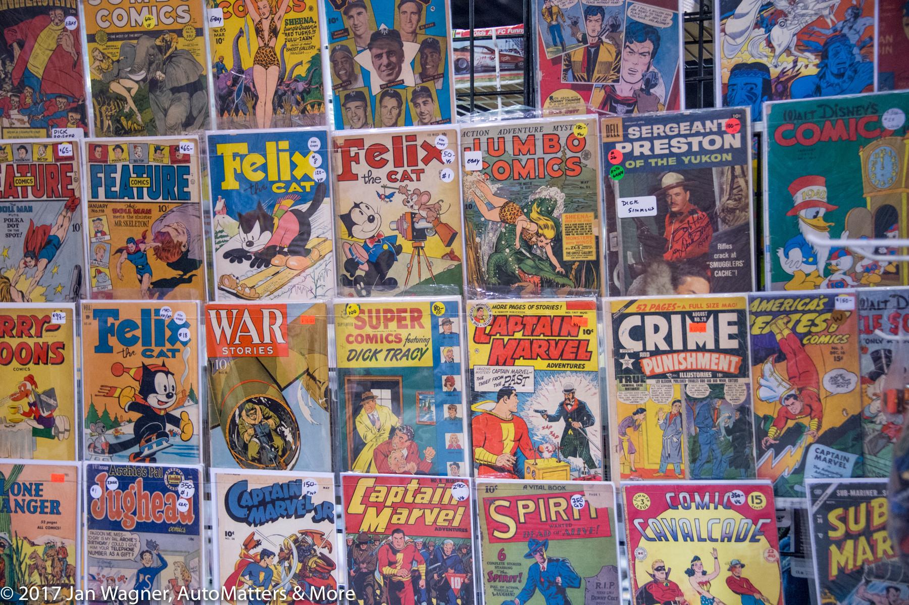 Comic books at WonderCon