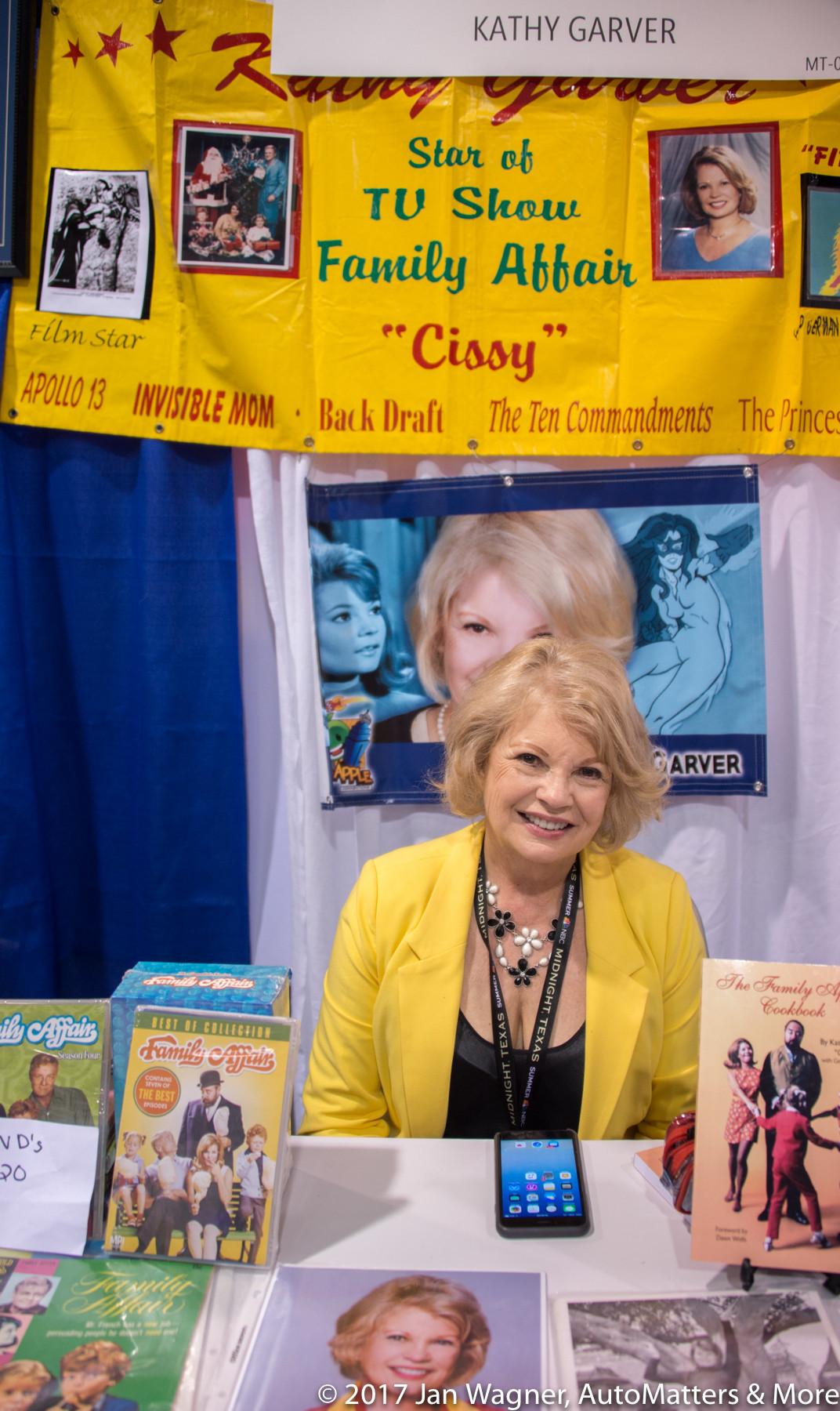 """Kathy Garver – Cissy from TV's """"Family Affair"""""""