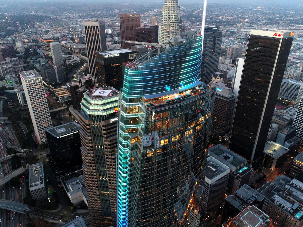 Wilshire Grand No Detail Is Too Small When You Re