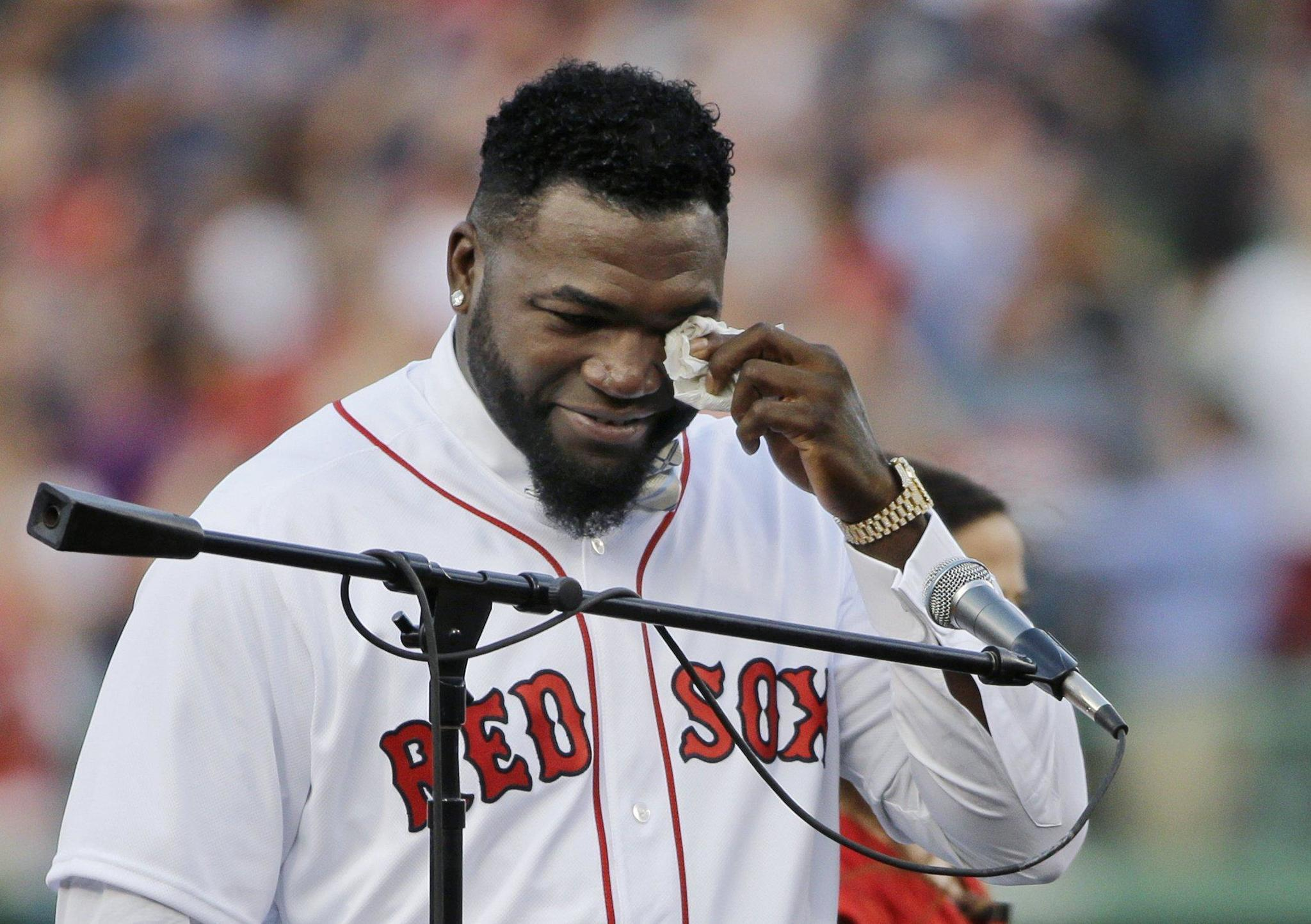 Red Sox Retire No 34 For Ortiz This Is His Pause City