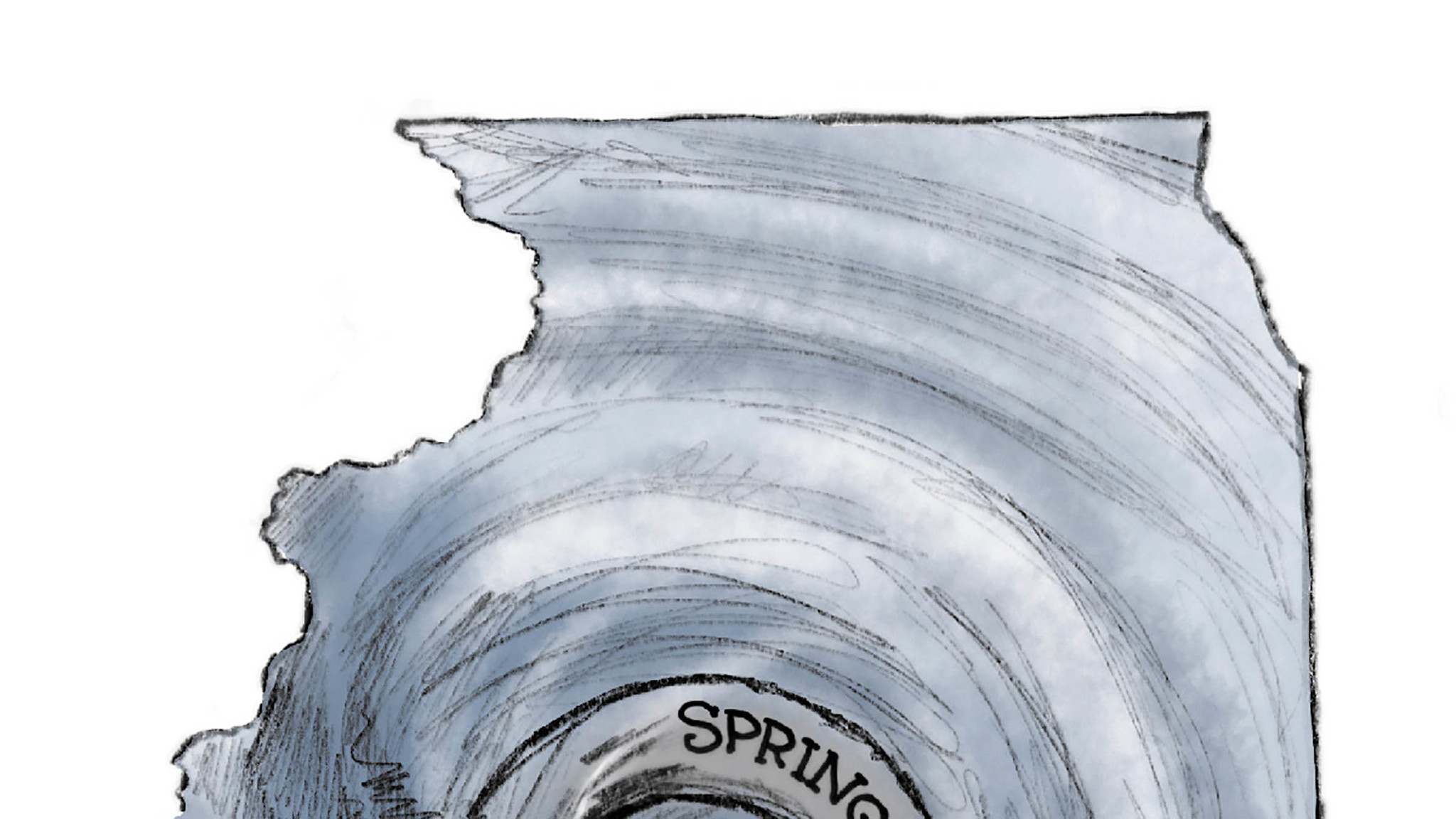 illinois circling the drain