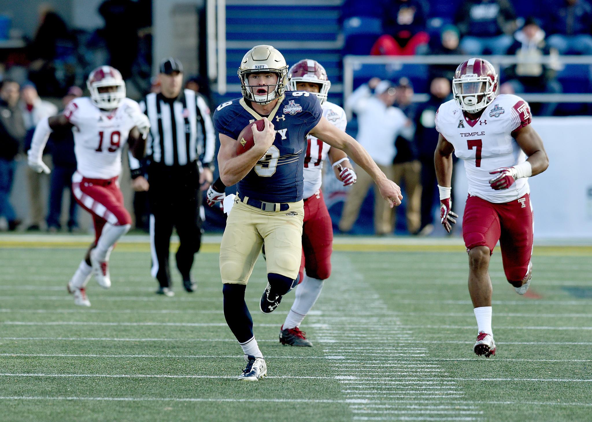 College Football Rankings: Navy Midshipmen