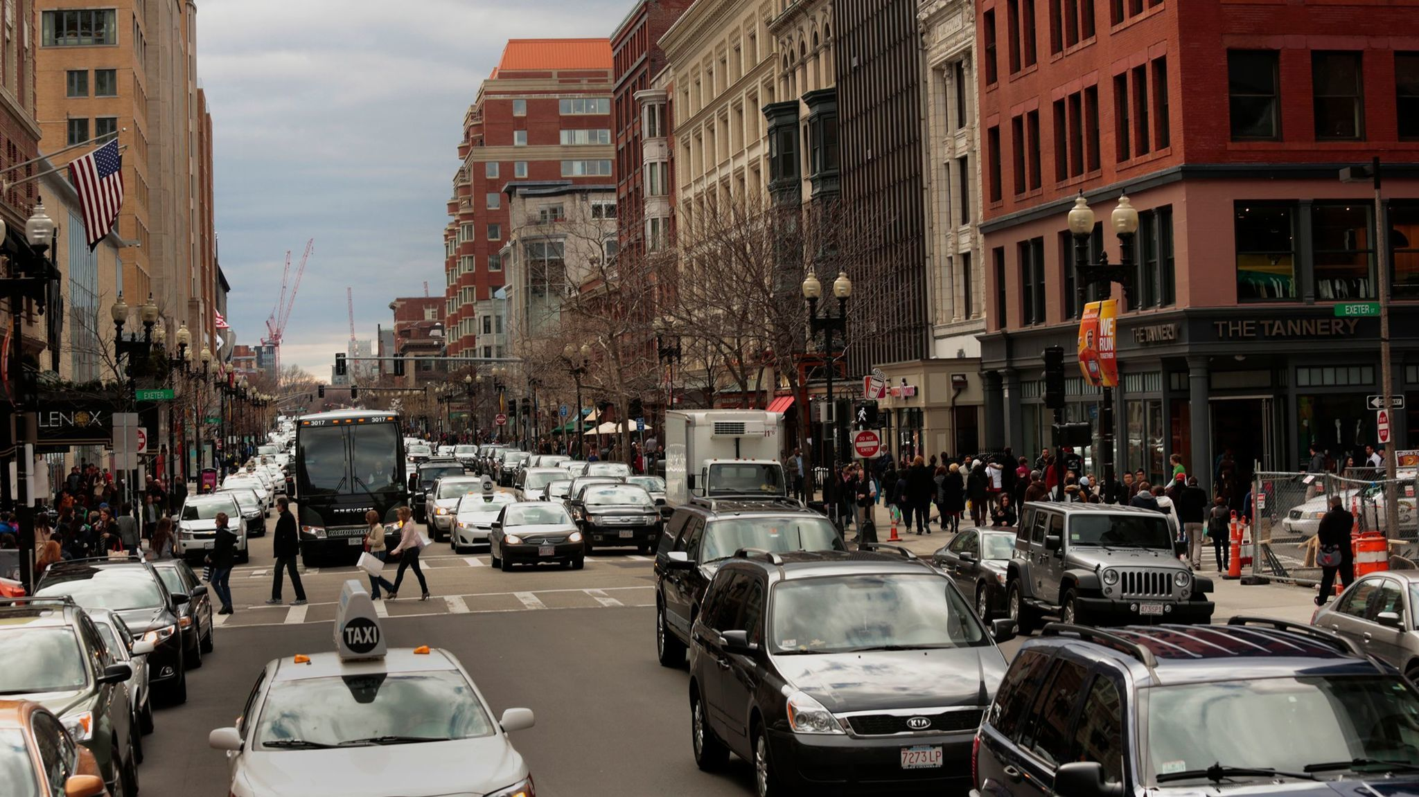 Boston is a fine city. But you wouldn't necessarily want to drive there.