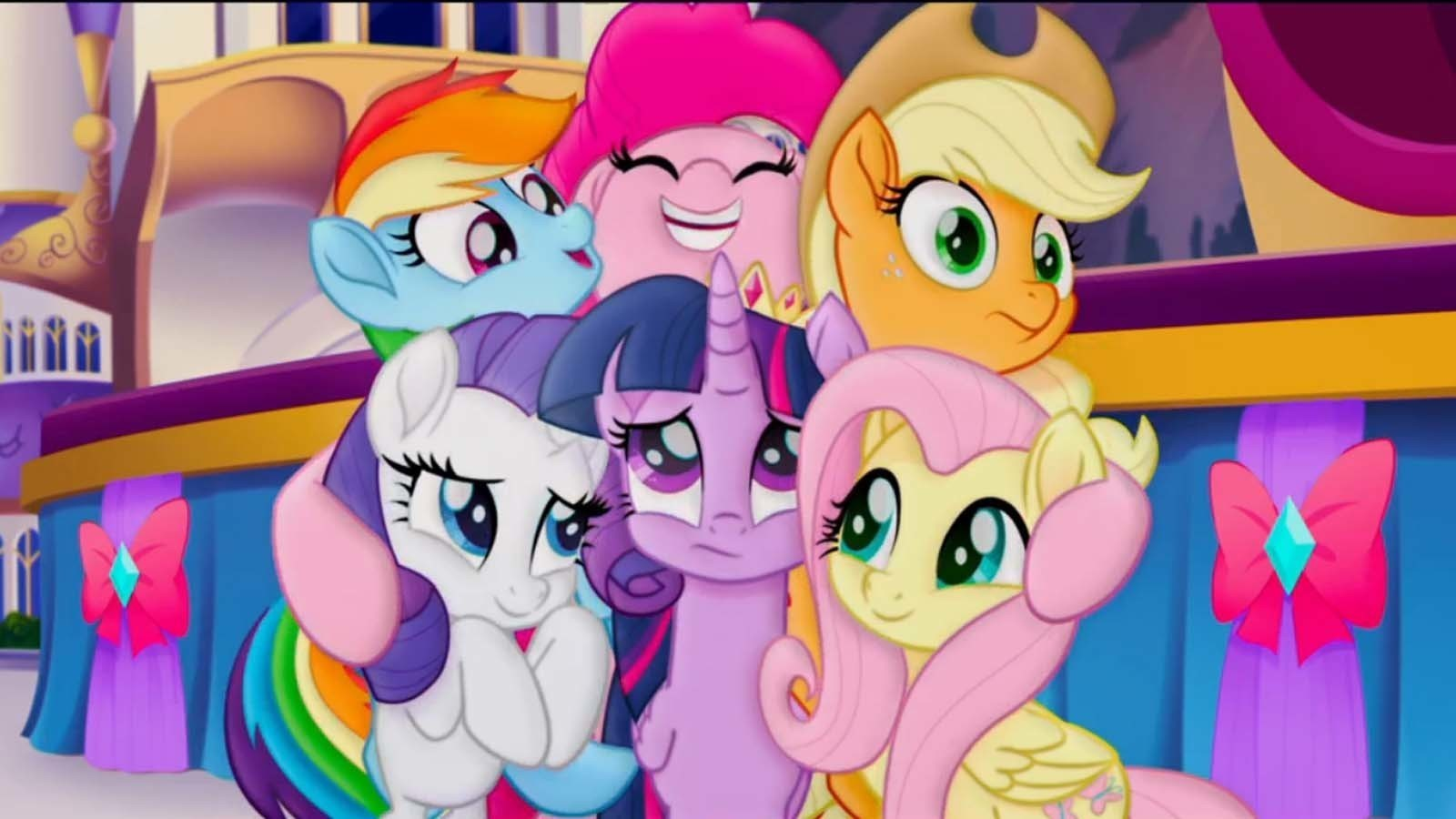 In 'My Little Pony: The Movie' trailer, there's drama in ...