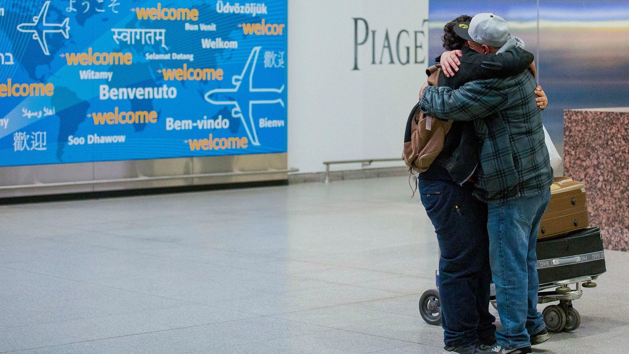 Revoked Visas Travel Ban Restored