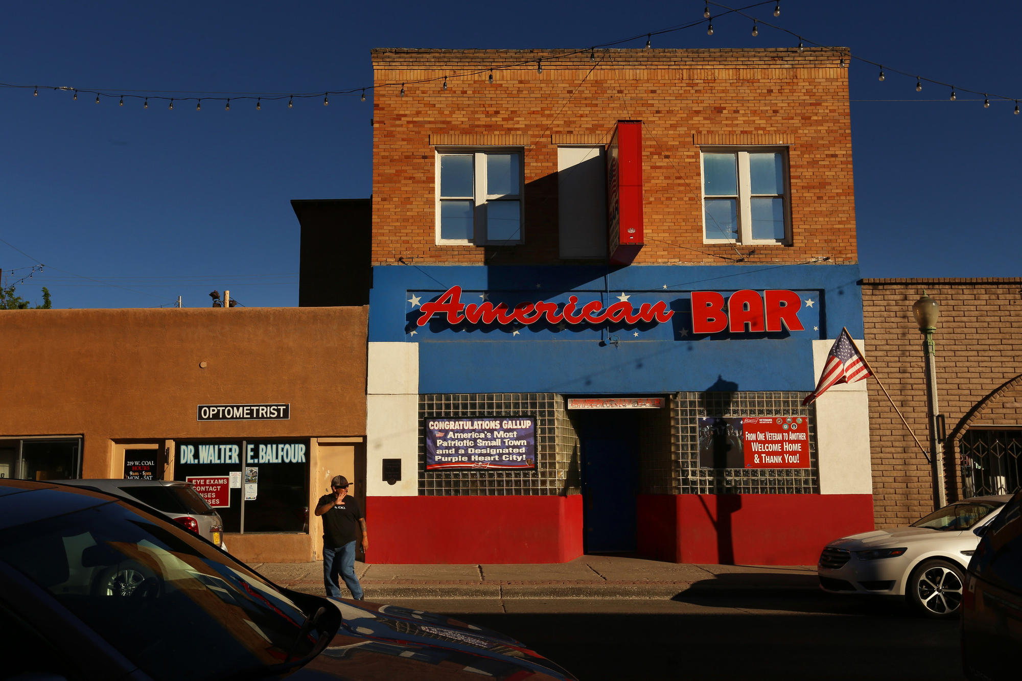 The American Bar in downtown Gallup, N.M., is not far from where Hiroshi Miyamura spent his time growing up.