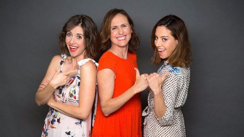 """Alison Brie, Molly Shannon and Aubrey Plaza spent springtime in Italy shooting """"The Little Hours."""""""