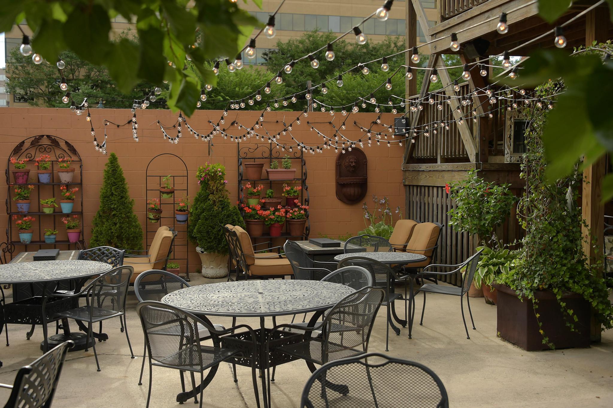 Hot Spots Restaurants Create Elaborate Outdoor Seating