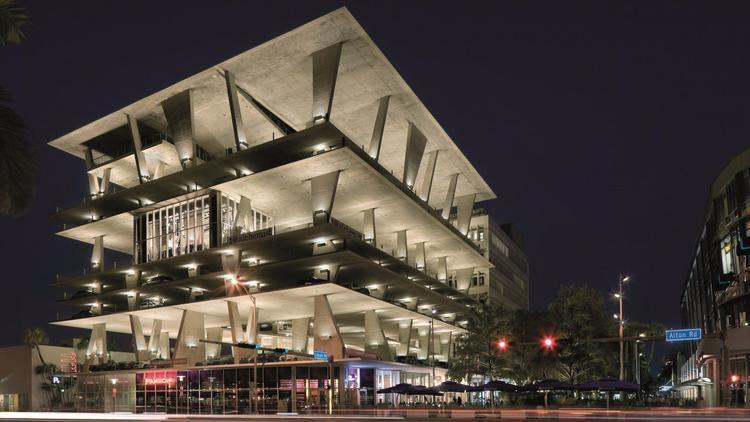 Fancy Lincoln Road Parking Garage In Miami Beach Sold