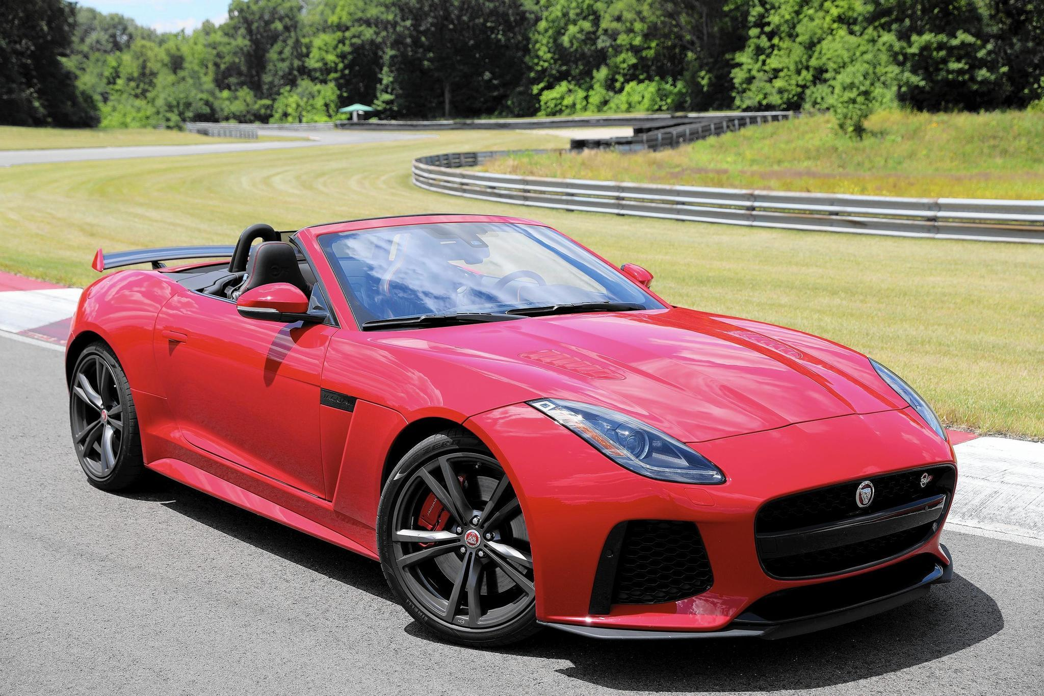 The Devil Drives 2018 Jaguar F Type Svr