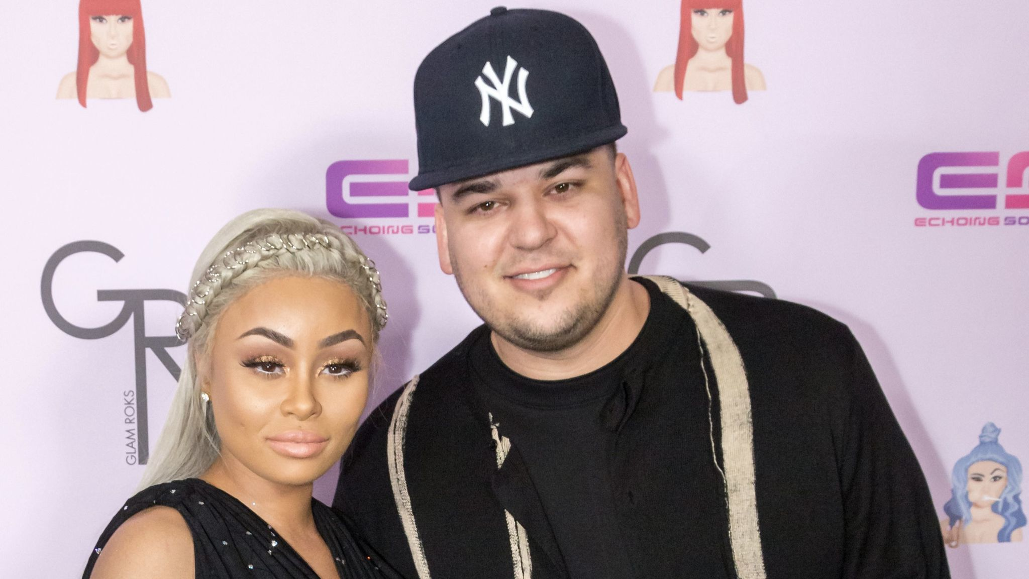 Rob Kardashian posts sexually explicit images supposedly of Blac Chyna on  social media fdffb09c9290