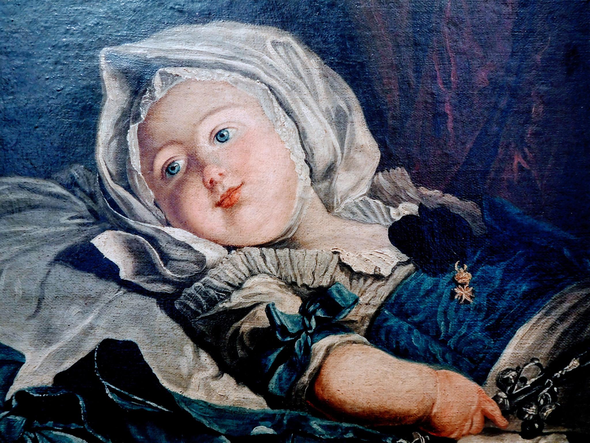 Greuze's portrait of a child, from the Cognacq-Jay Museum in Paris' Marais quarter..