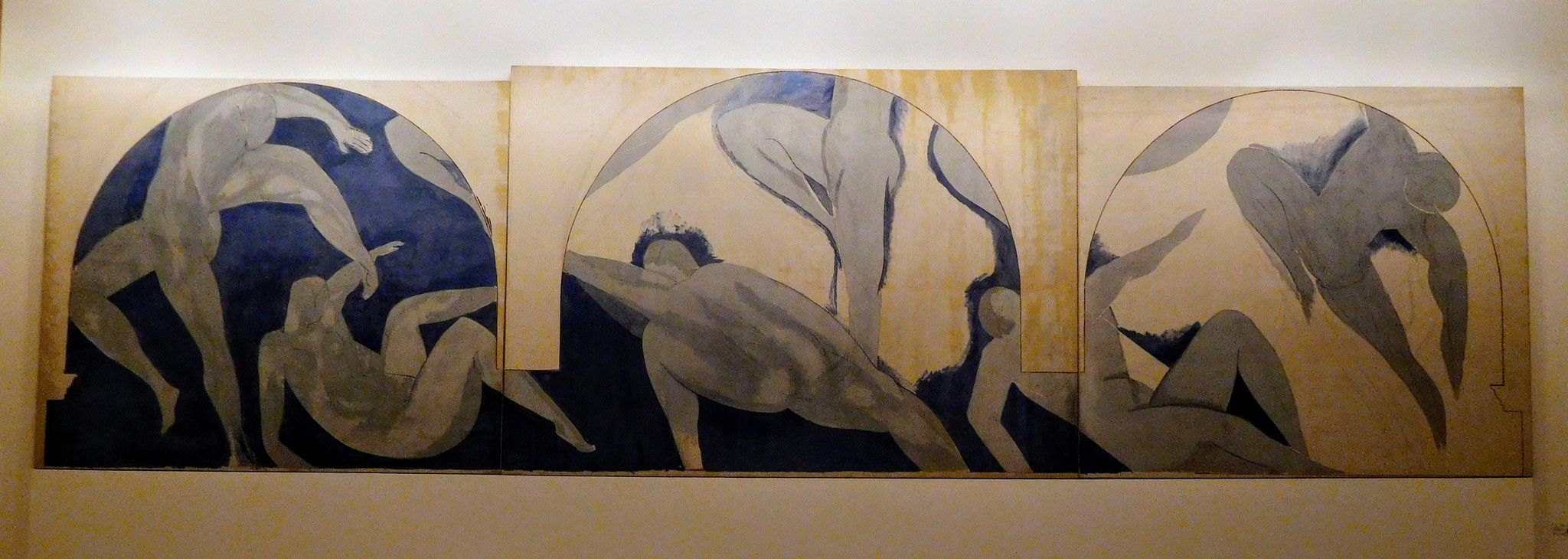 "Matisse's ""La Danse Inachevee"" (1931) at the Musee d'Art Moderne."