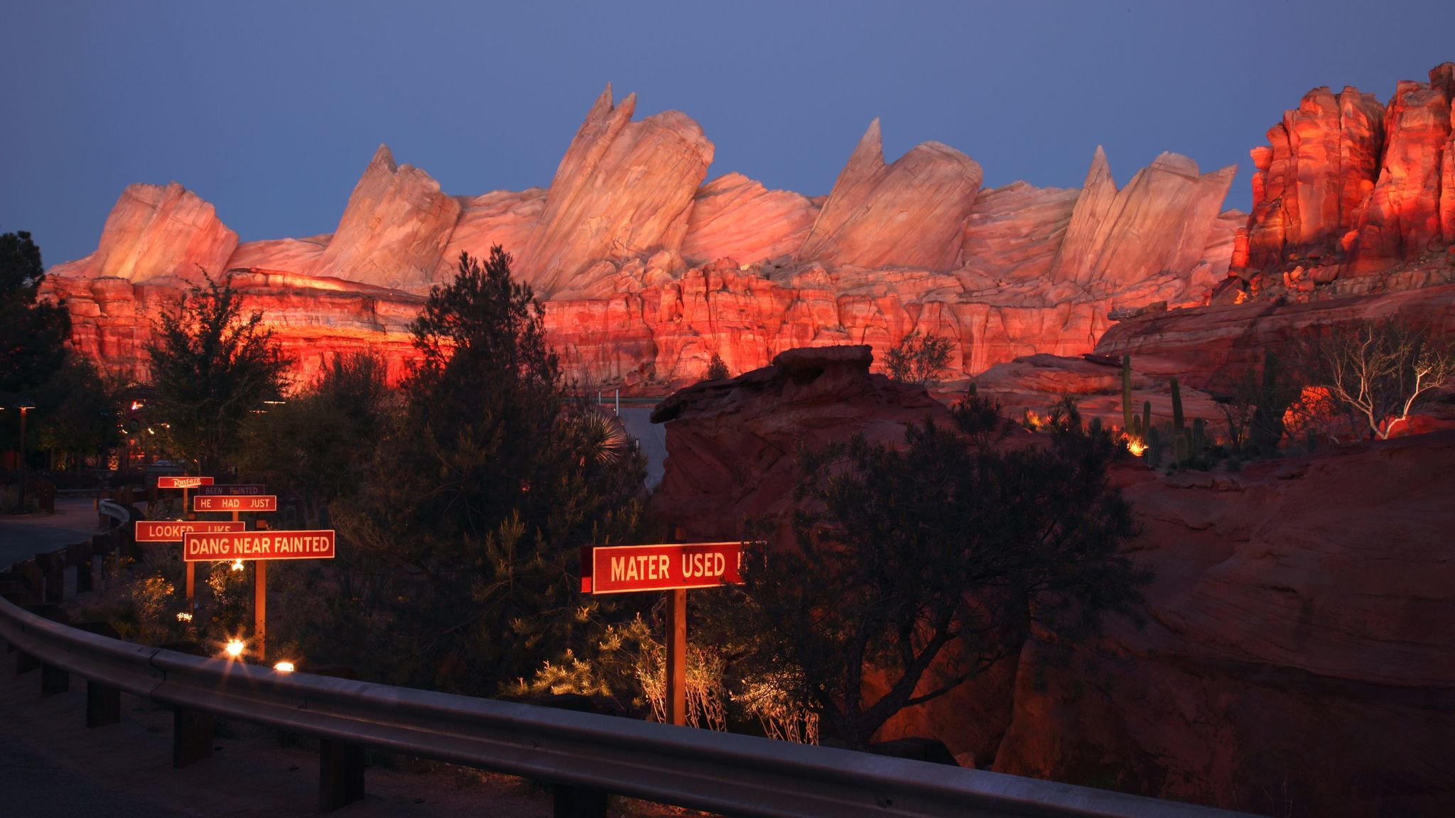 Cars Land at Disney California Adventure represents one of the theme park's most meticulously detailed areas.