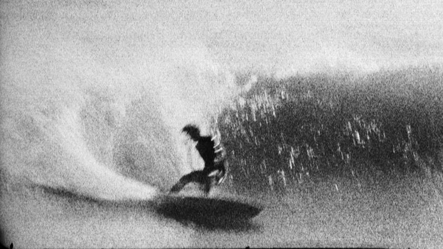 """FJV Knost,"" by filmmaker and photographer Tin Ojeda, from a group show inspired by surfing at the Depart Foundation."