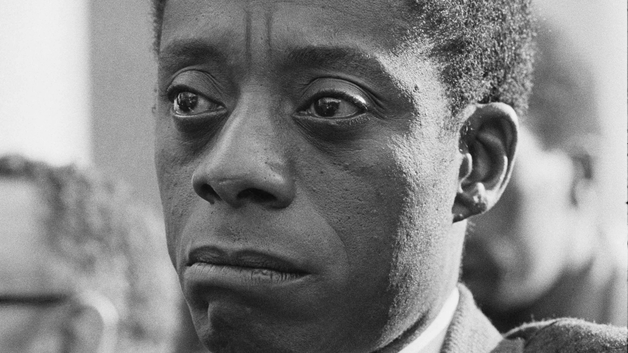 "James Baldwin as seen in the documentary ""I Am Not Your Negro."""