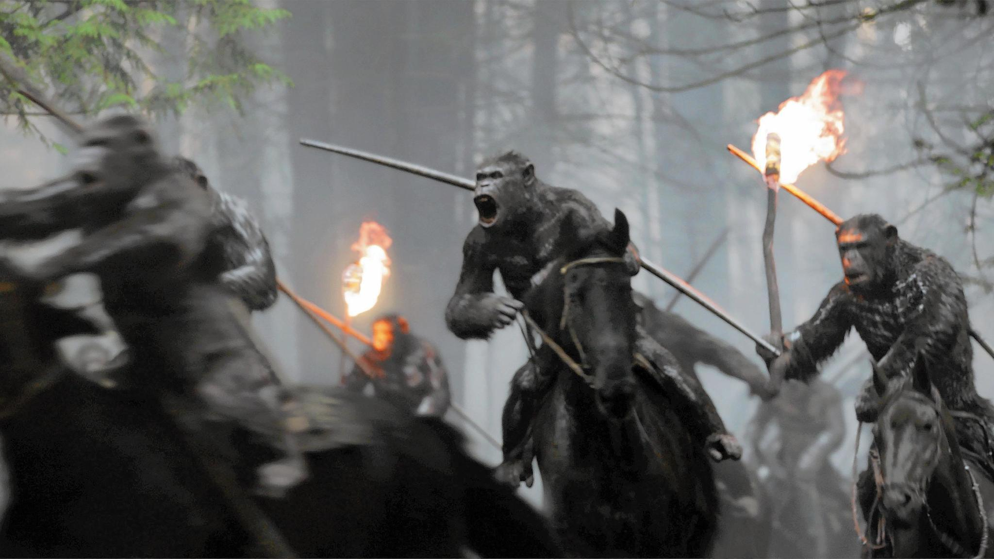 'War for the Planet of the Apes' review: The best Western of 2017