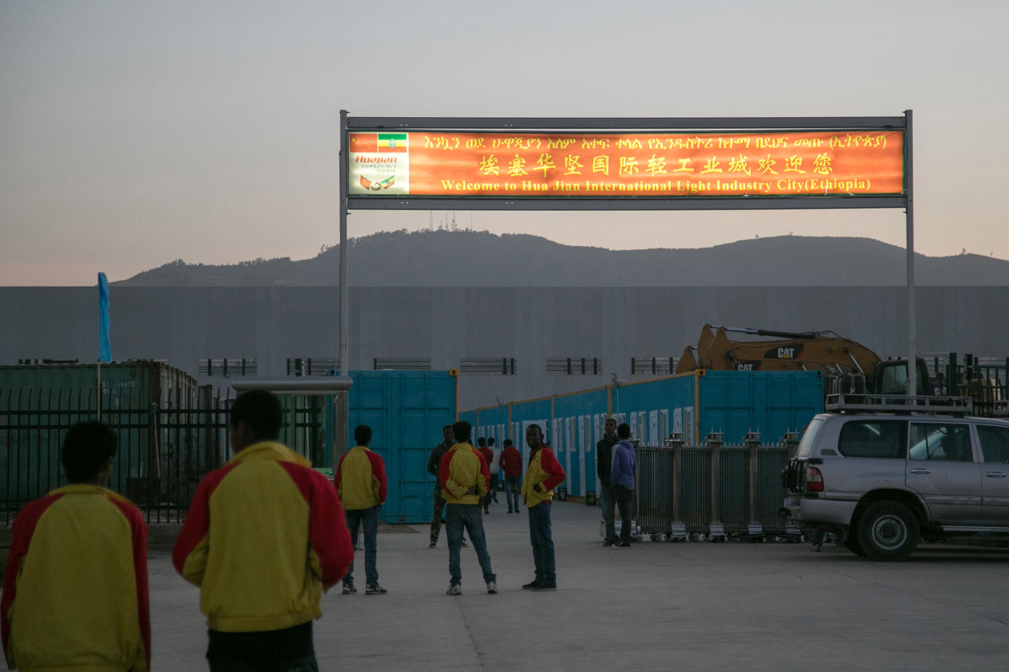 China says it built a railway in Africa out of altruism, but