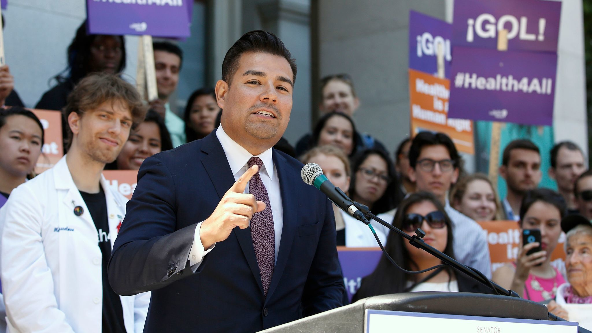 State Sen. Ricardo Lara of Bell Gardens is so far the only candidate officially in the running.
