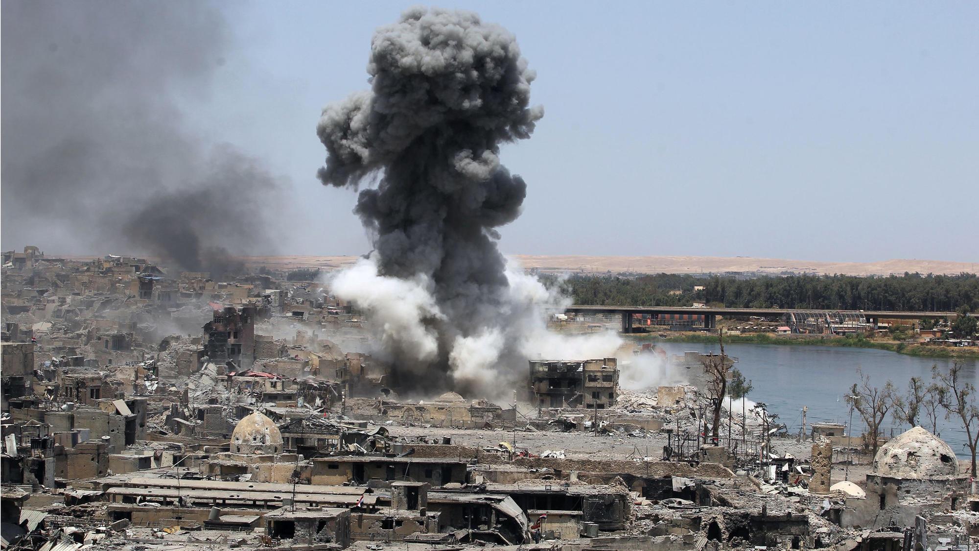 Airstrike in Mosul