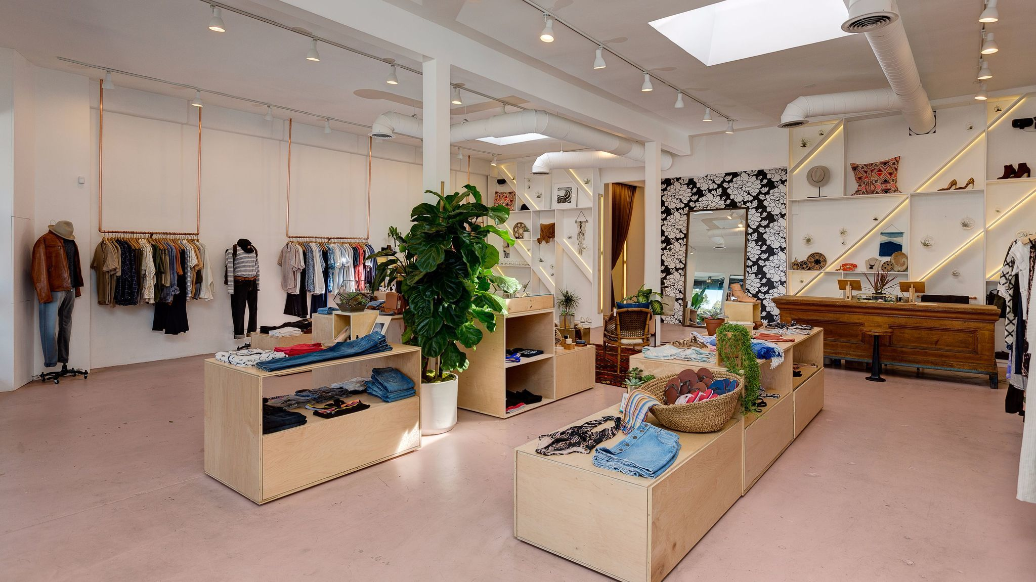 What used to be Bucks & Does in Silver Lake was recently revamped and renamed. Now the Odells, the 2,000-square-foot, multi-brand store offers a curated selection of clothing and accessories, including the Odells brand created by husband-and-wife founders Laura and Jason O'Dell.