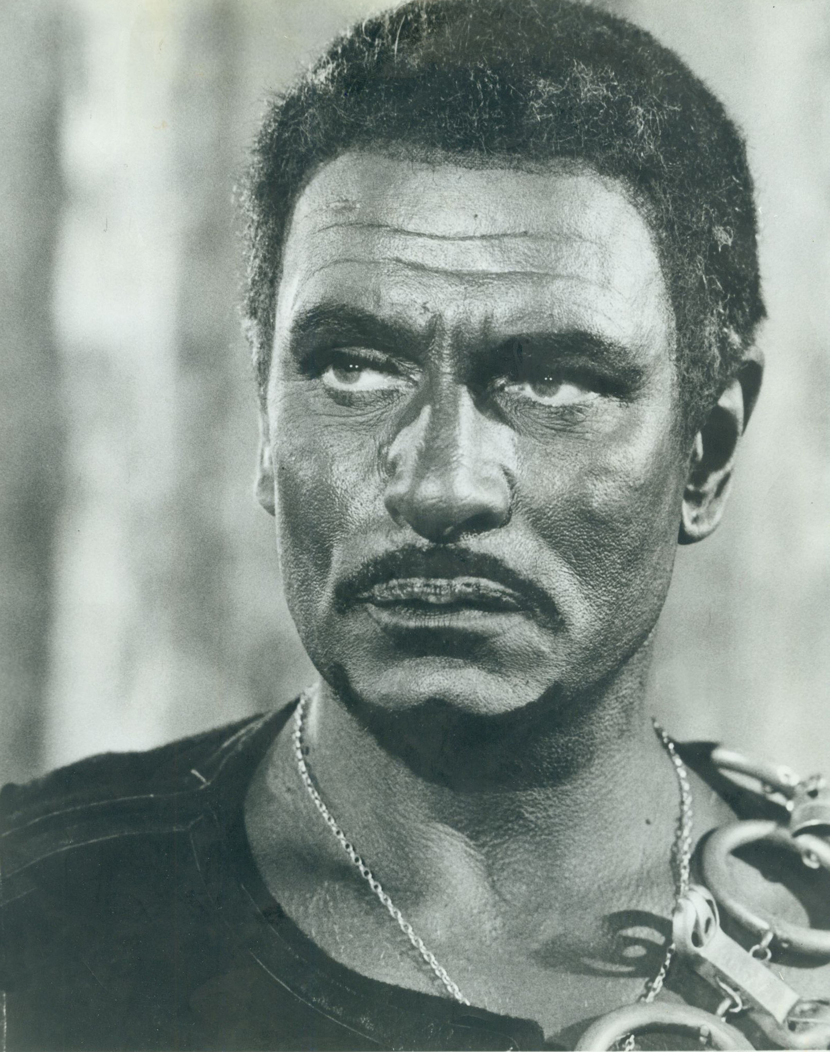 Laurence Olivier portrays Othello in blackface in the 1965 film.