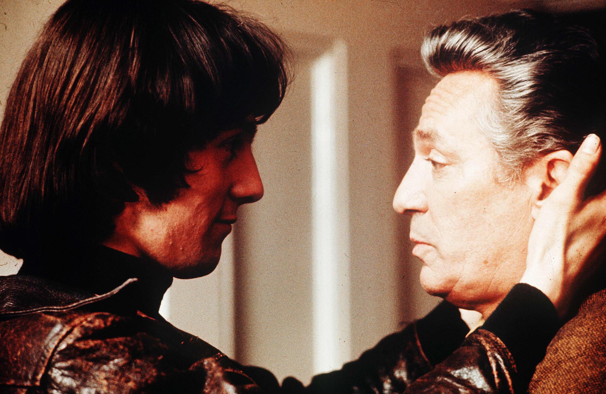Murray Head, left, and Peter Finch in John Schlesinger's