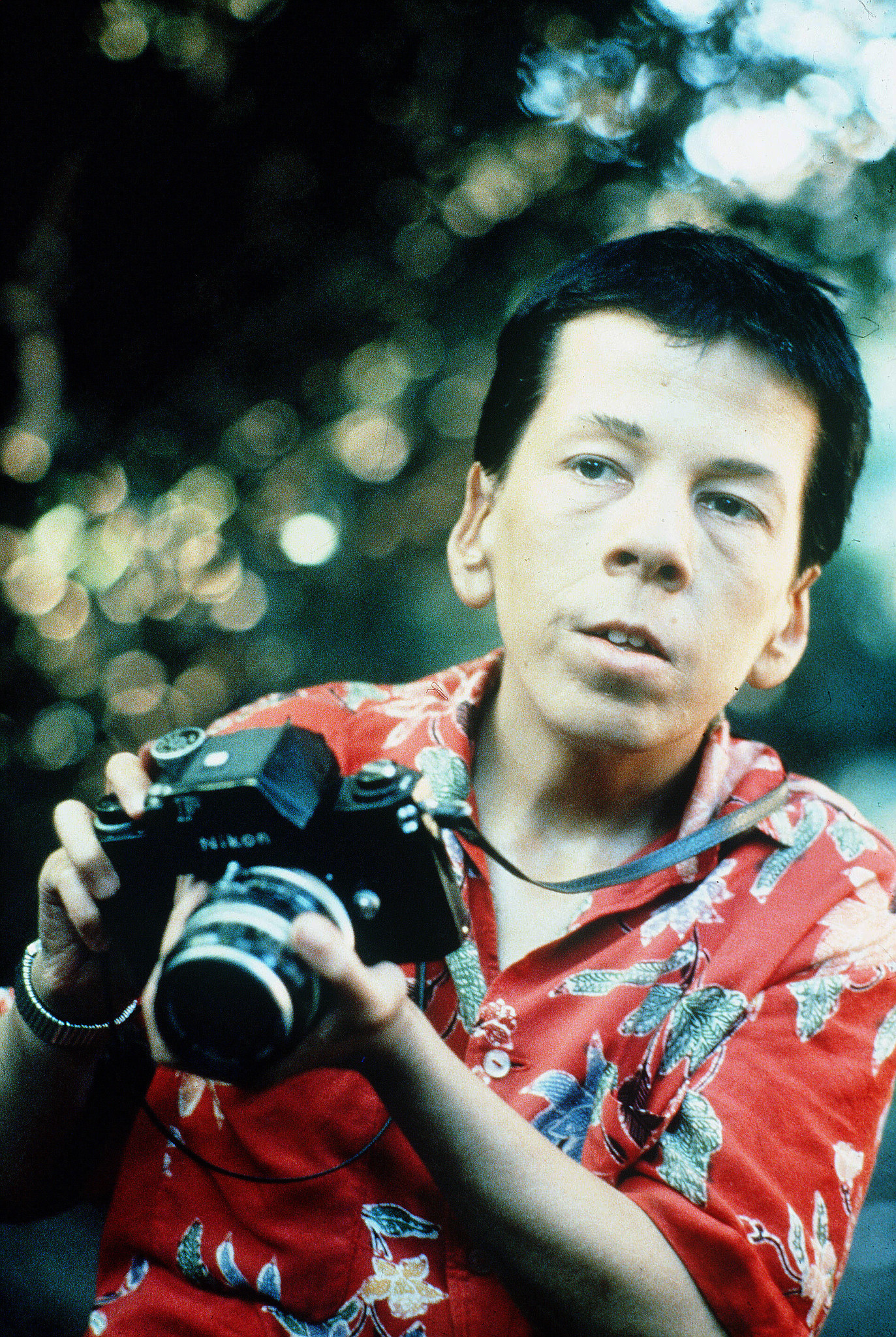 """Linda Hunt in """"The Year of Living Dangerously."""""""