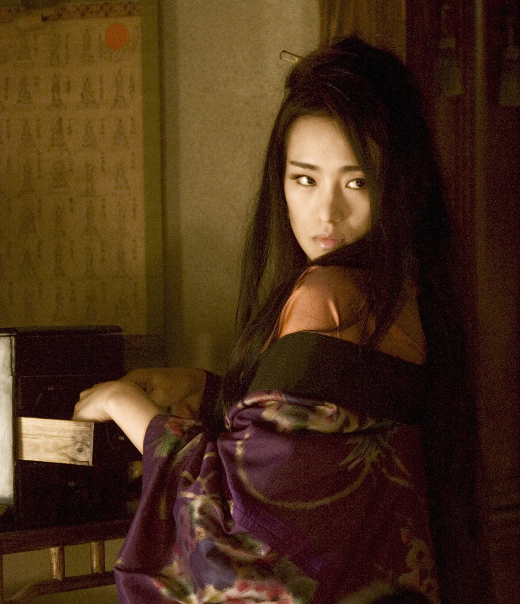 """Singaporean-Chinese actress Gong Li starred in the movie, """"Memoirs of a Geisha."""""""