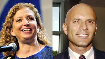 Wasserman Schultz foe Tim Canova says he'll challenge her again in 2018