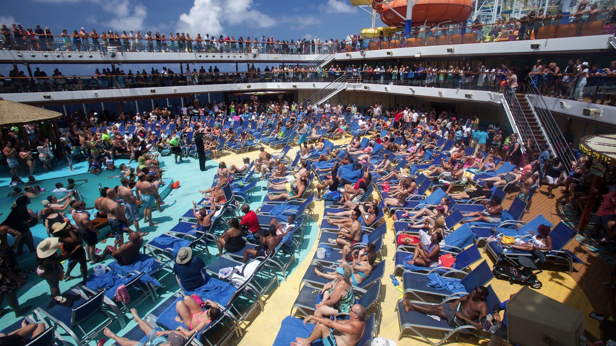 Tired of waiting in long lines on the ship? How to skip ...
