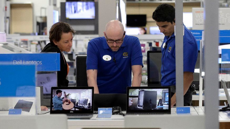 Best Buy has invested heavily in employee training.