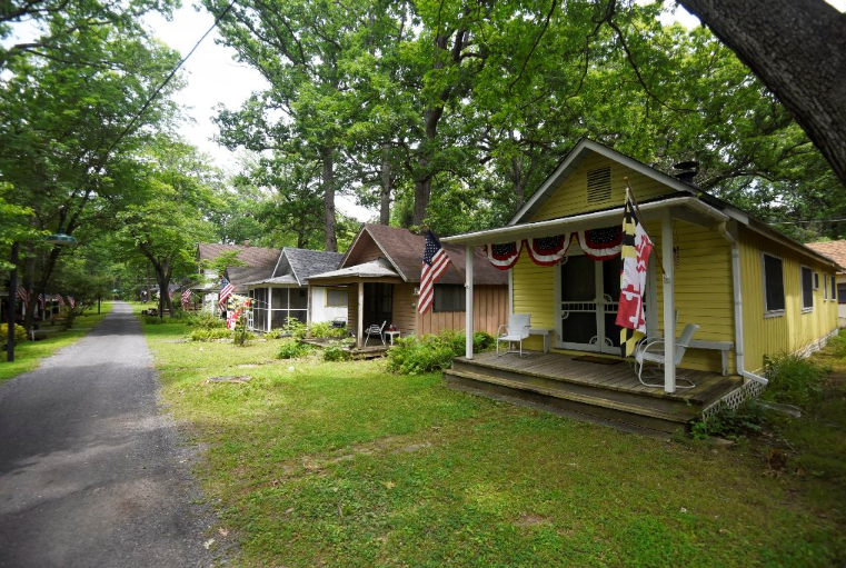 A 150 Year Old Camp Meeting Site Provides A Summertime
