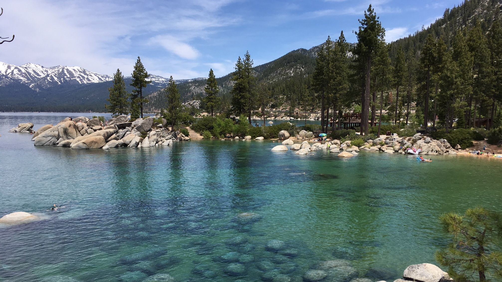 Summer in Lake Tahoe striking revelation for these SoCal