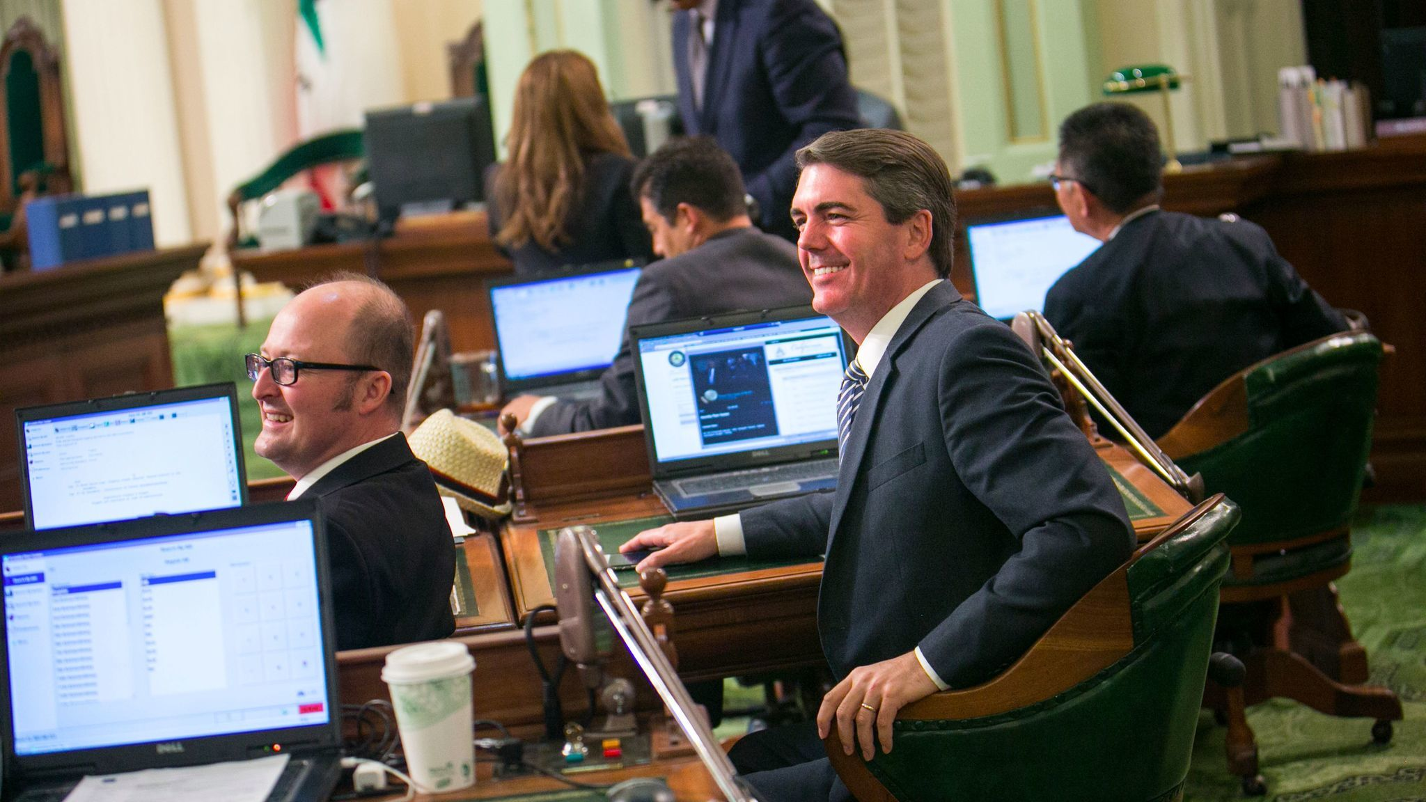 Assemblymember Marc Steinorth (R-Rancho Cucamonga), pictured in 2015.