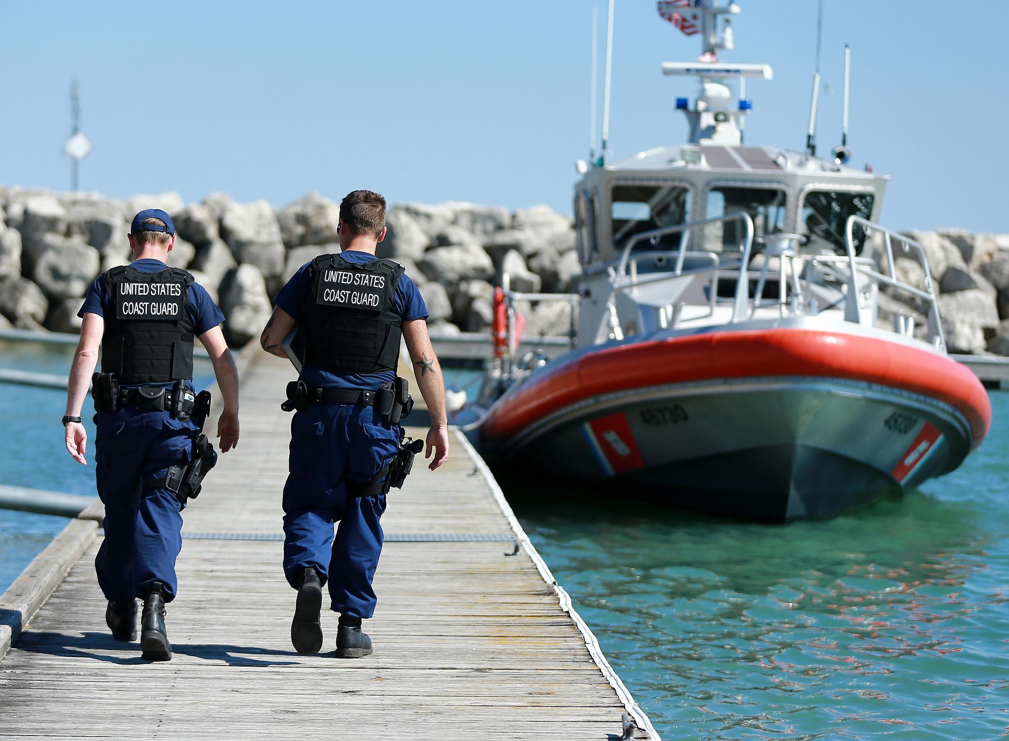 real fake distress calls on lake michigan spike coast guard