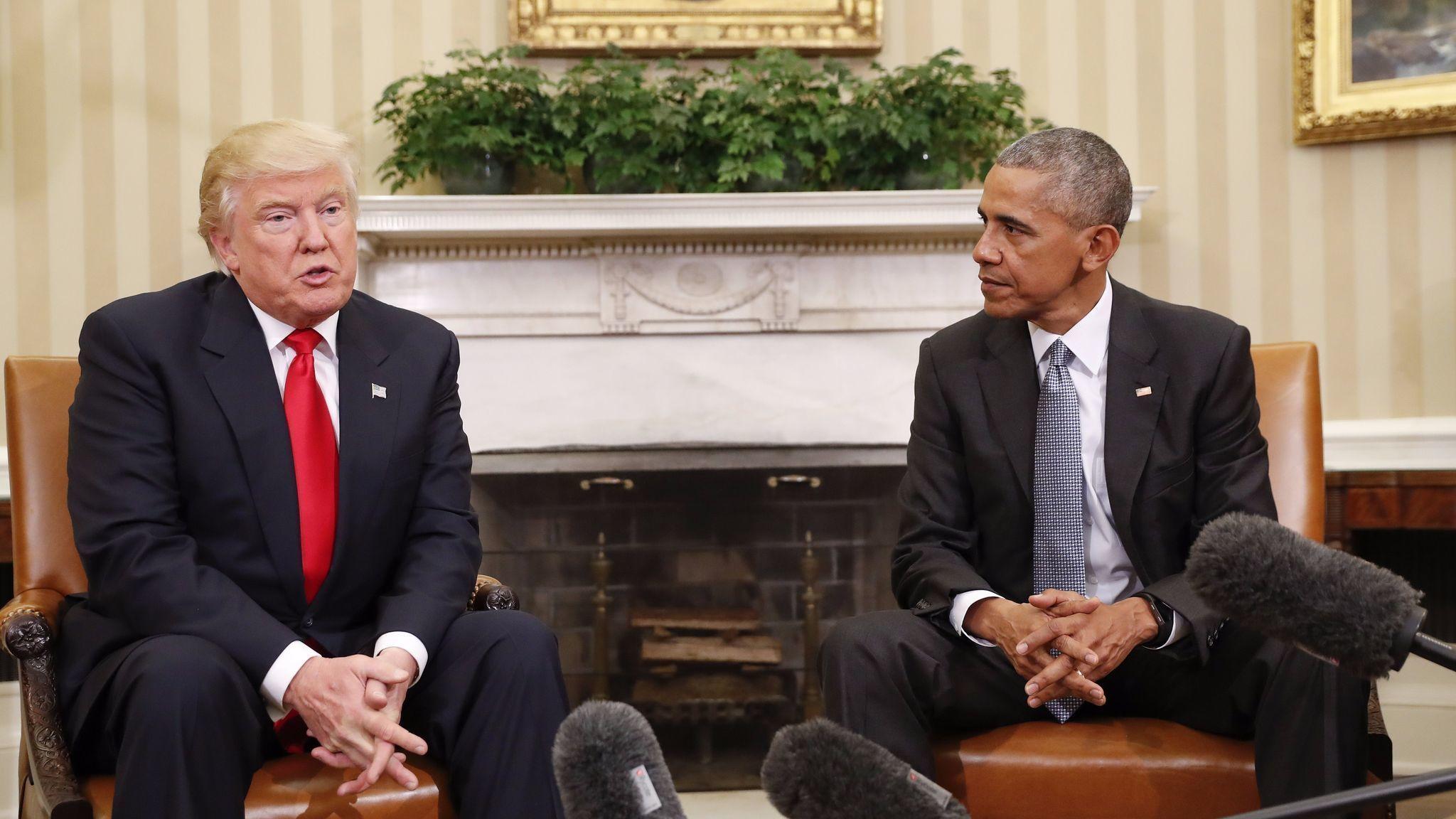 Obama hem med starkta meriter