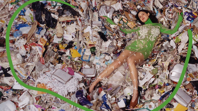 Stella McCartney shot her fall campaign in a Scottish landfill.