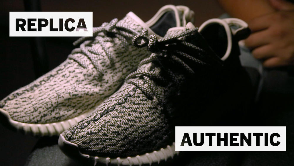 05c18d4ed63 Counterfeit Yeezys and the booming sneaker black market - Los ...