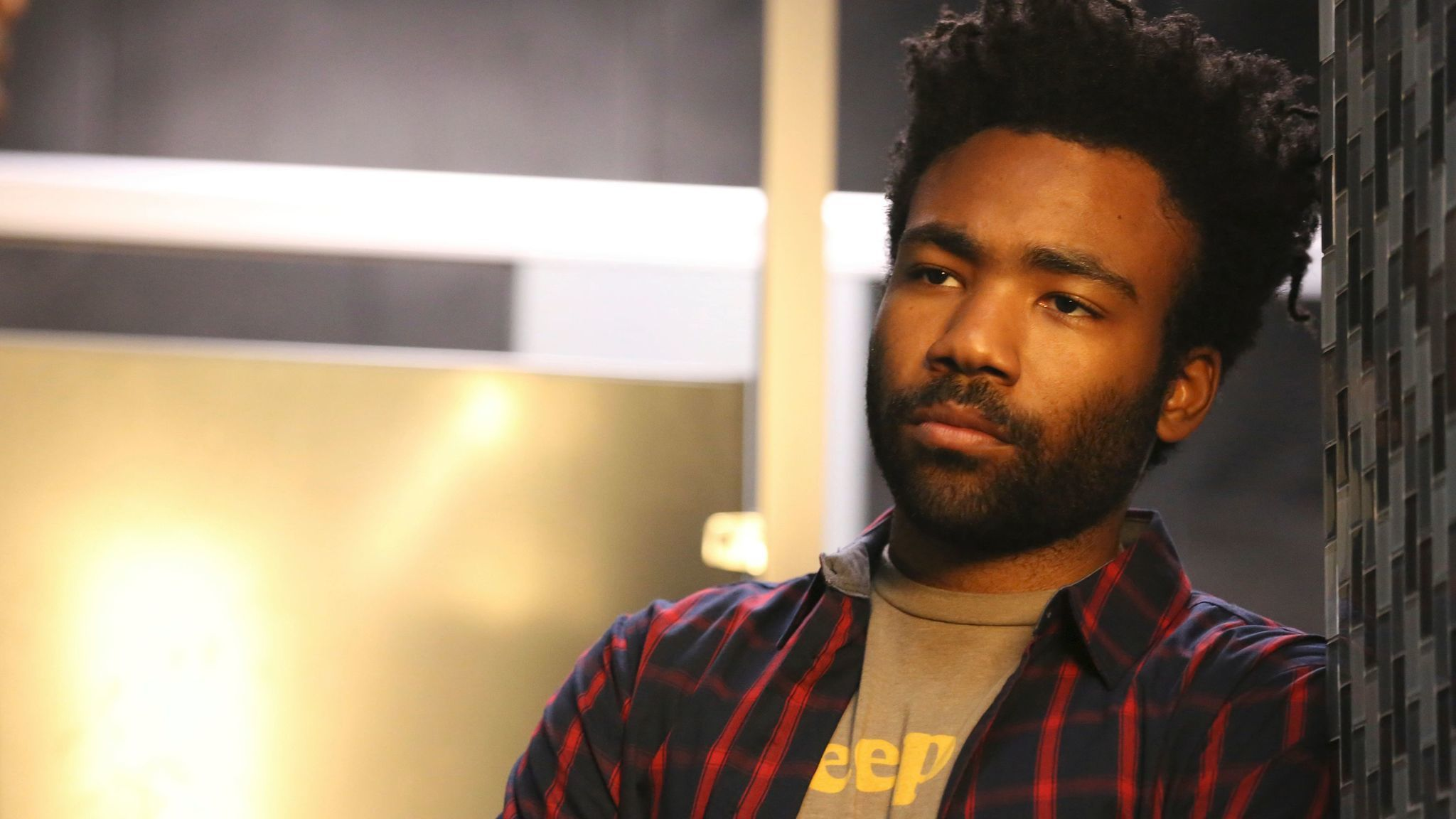 "Donald Glover in the comedy ""Atlanta."""