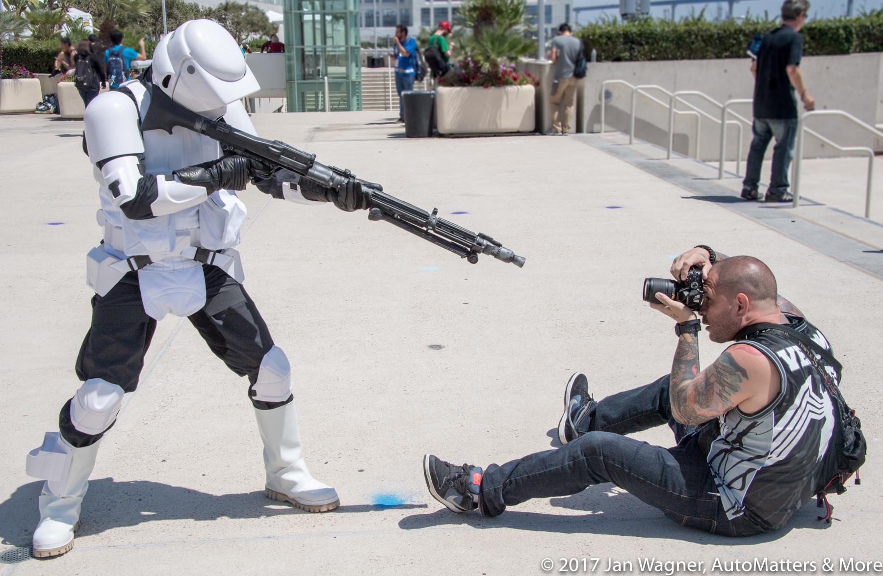 Shooting the shooter – San Diego Comic-Con 2016
