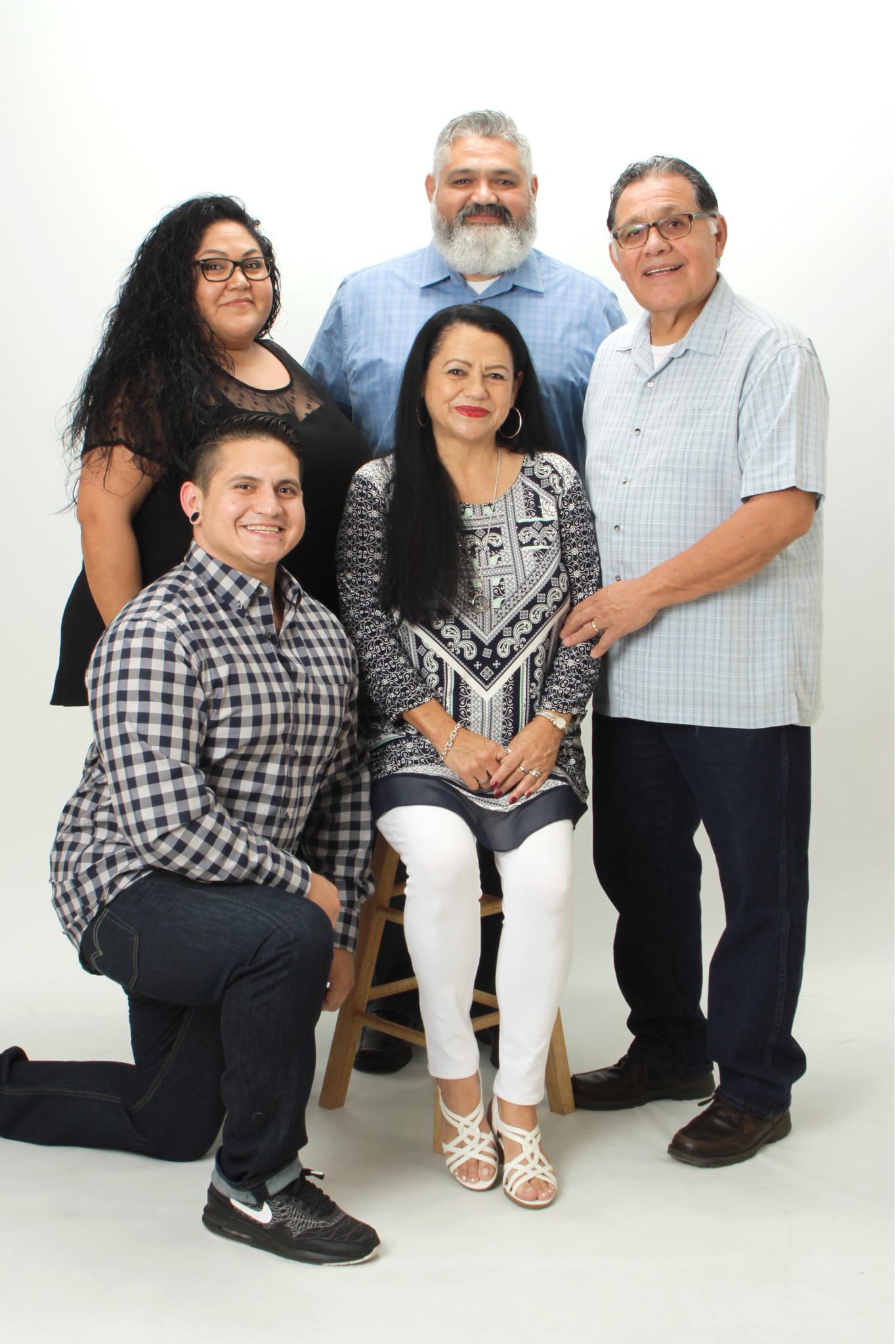 The Garcia family.