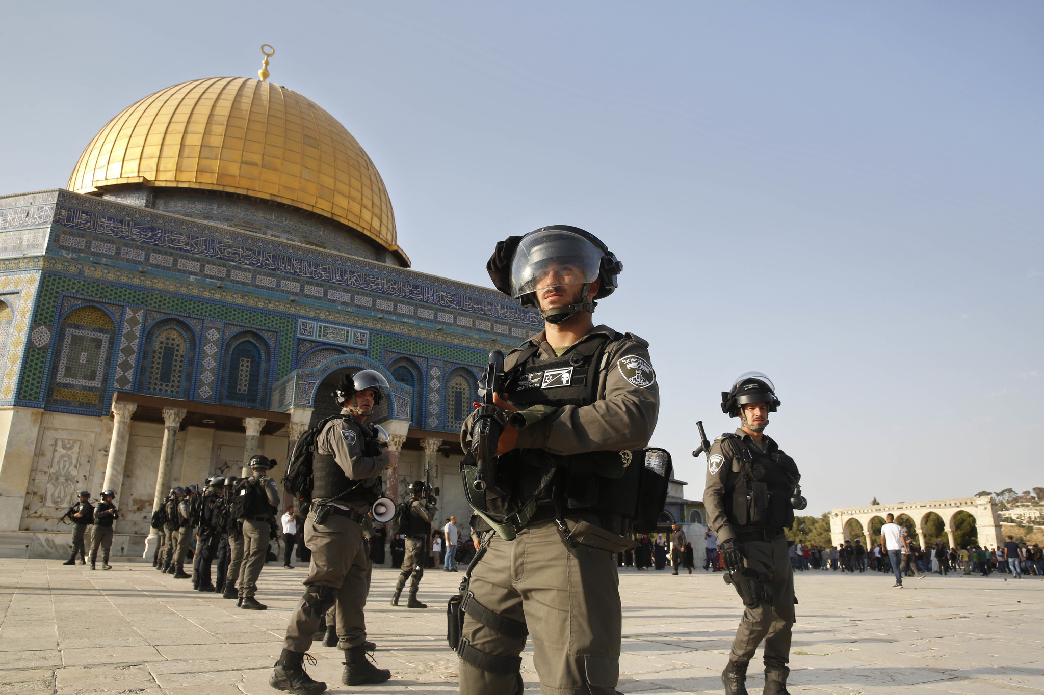 Non Muslim Perspective On The Revolution Of Imam Hussain: Clashes Erupt At Jerusalem Shrine As Thousands Of Muslims